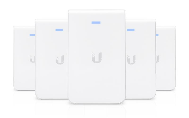 Ubiquiti Unifi Ap Ac 450 1300mbps In Wall 5 Pack For All